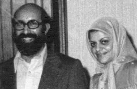عکس همسر آمریکایی شهید چمران