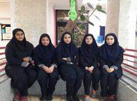 میزان مسئولیت پذیری خانواده و جامعه بین دانش آموزان دختر